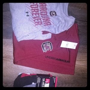 Nwt kids Under armour South Carolina outfit